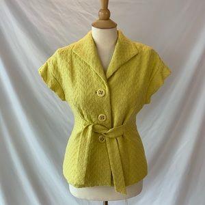 Beth Bowley retro looking jacket vest